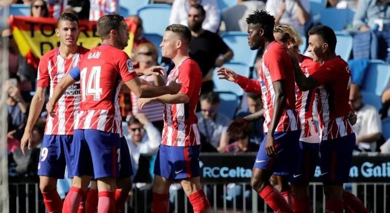 Gameiro y Oblak dan el triunfo al Atlético