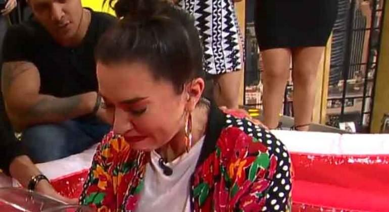 Hacen llorar a Laura G en programa de televisión