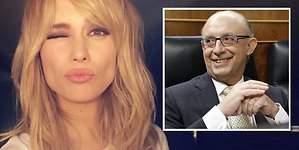 Patricia Conde habla en la red: Un beso para Montoro
