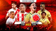 Perú vs Colombia: ¿quién es el favorito para quedarse con la victoria?