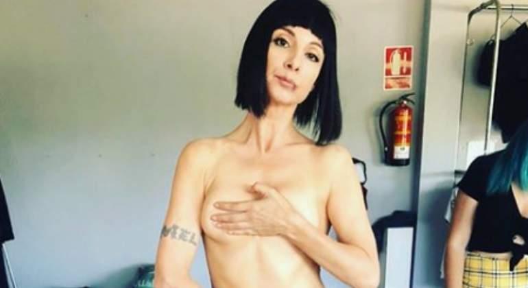El Desnudo Más Polémico De Najwa Nimri Informaliaes