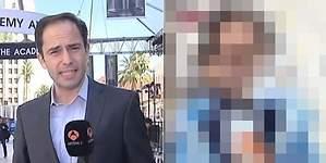 El look que ha hecho viral el corresponsal de Antena 3 en los Oscar