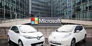 Renault-Nissan y Microsoft, socios en conducción conectada