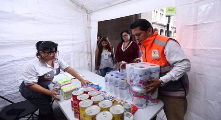 Centro de acopio de la UNAM, todo un éxito