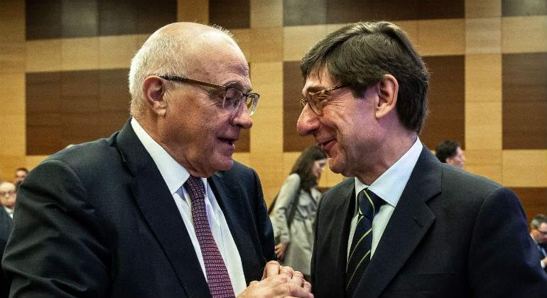 Josep Oliu y Jos Ignacio Goirigolzarri