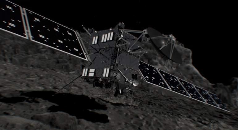 La sonda Rosetta captó la pequeña metamorfosis del cometa 67P al acercarse al sol