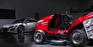 Honda prepara el cortacésped más rápido del mundo: superará los 215 km/h