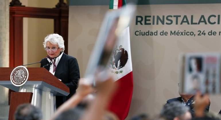 Sánchez Cordero será la primera funcionaria de la 4T en comparecer en el Senado de la República