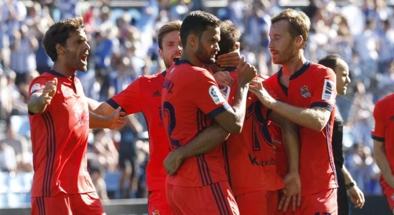 La Real Sociedad asalta Balaídos remontando los dos goles del debutante Maxi Gómez