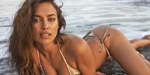 Irina Shayk vuelve al trabajo desnuda  tras las vacaciones