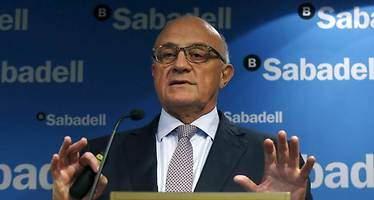 Oliu (Banco Sabadell) descarta nuevas compras y quiere centrarse en la rentabilidad