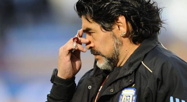 Maradona no asistirá a la boda de su hija por Rocio Oliva