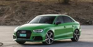 Los nuevos Audi RS 3 Sedan y Sportback llegan con 400 CV bajo el capó