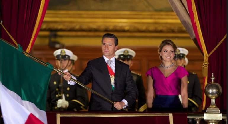 Cancela Peña cena de fiestas patrias