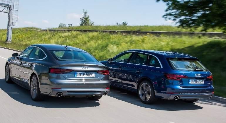 Audi pone a la venta en España los nuevos A4 Avant y A5 Sportback con gas natural