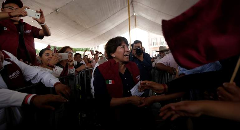 Delfina Gómez, candidata de Morena al Edomex, presenta su equipo de transición