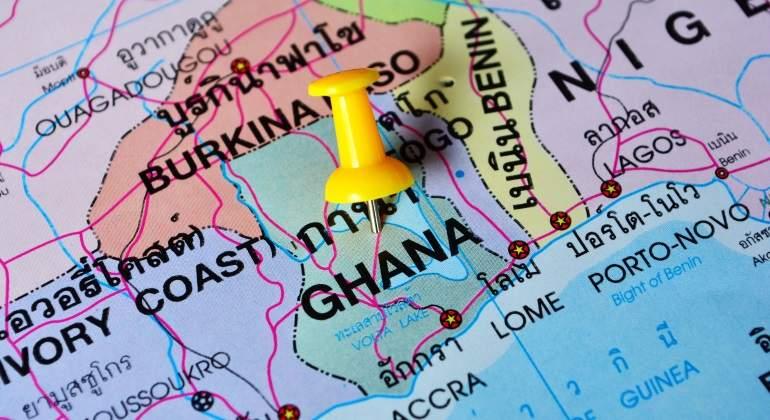 Ghana pasa del chocolate al crudo