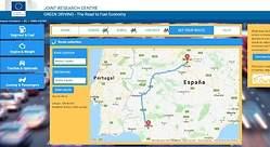 Green Driving Tool: la web de la Comisión Europea para averiguar cuánto contamina en sus trayectos por carretera
