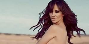 Melani Olivares posa desnuda y enseña