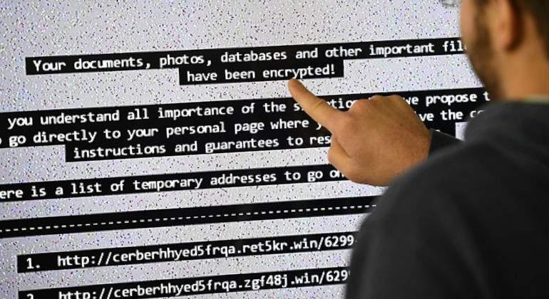 Ciberataque masivo afecta decenas instituciones y empresas en Rusia y Ucrania