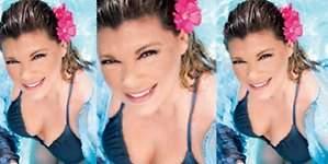 Terelu celebra el fin de su enfermedad en bikini