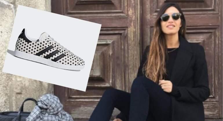 Vas a querer las zapatillas Gazelle de Sara Carbonero InStyle