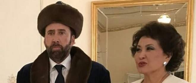 Nicolas Cage, el hazmerreír de las redes con su traje de Kazajistán