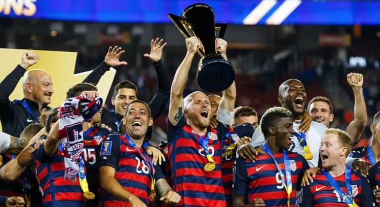 Con gol agónico, EU levanta su sexta Copa Oro