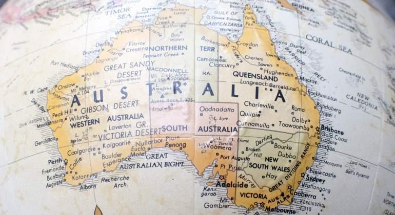 Y el hombre llegó a Australia...