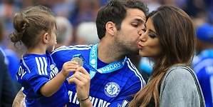 Fábregas y Daniella Semaan esperan su tercer hijo