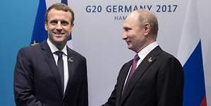 Nunca deberíamos mostrarnos débiles ante Putin: Macron