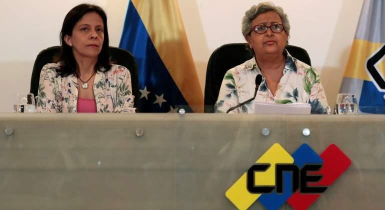 CNE de Venezuela anuncia instalación efectiva de mesas de votación