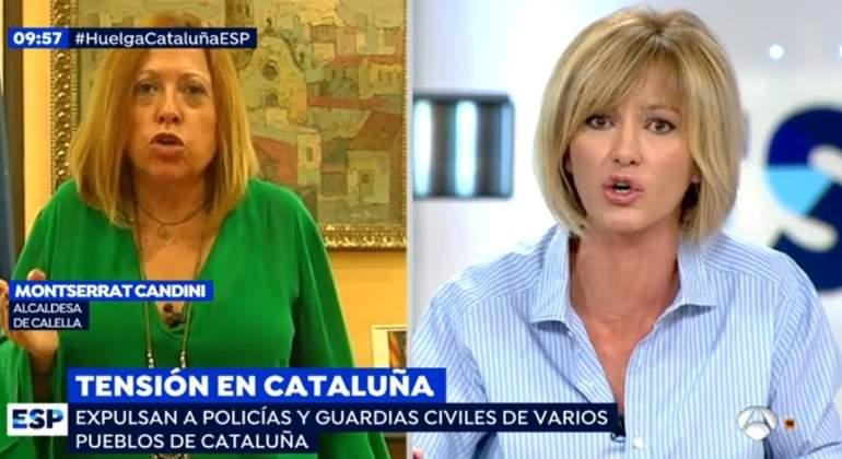 Griso defiende a los policías ante la alcaldesa de Calella