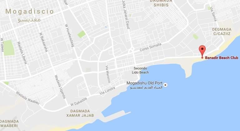 Explota un coche bomba en un restaurante de Mogadiscio