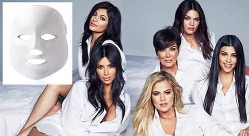 La máscara LED que vuelve locas a las Kardashian