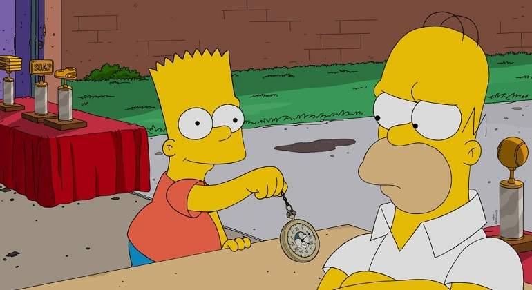 Bart-en-Los-Simpson