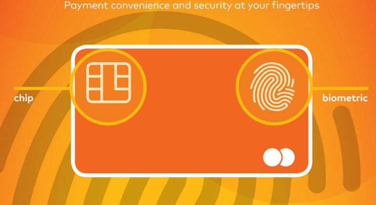 Mastercard incorpora huella dactilar a plásticos para autentificar operciones