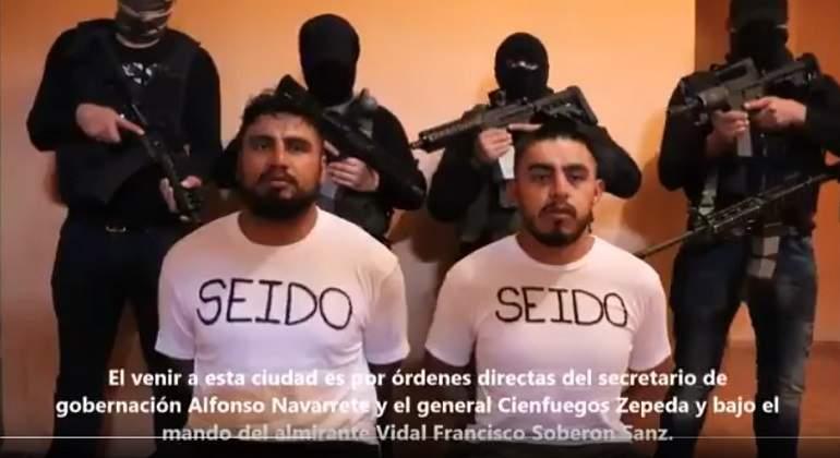 Caen 18 sicarios de organización criminal en México