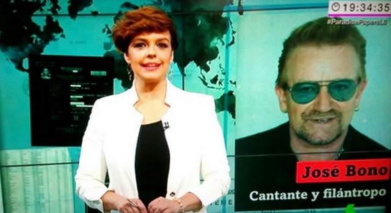El error de LaSexta con Paradise Papers: confunde a Bono de U2 con el del PSOE