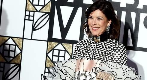 Carolina de Mónaco: su extravagante vestido inspirado en la musa de Klimt