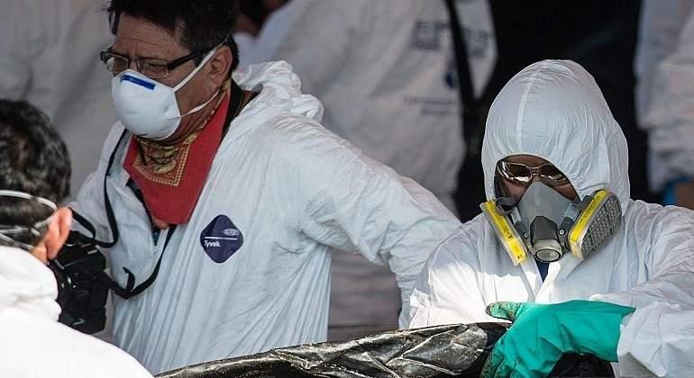 Hallan fosa común con 192 cuerpos en México