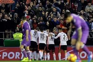 El Valencia sorprende con triunfo sobre Real Madrid
