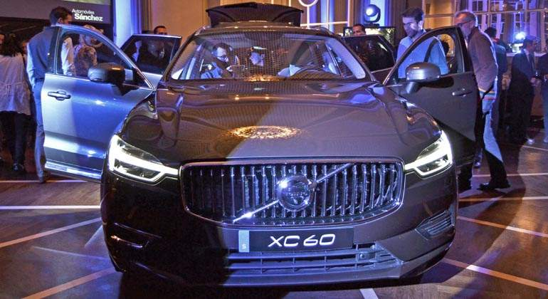 Autom 243 Viles S 225 Nchez Presenta El Nuevo Volvo Xc60