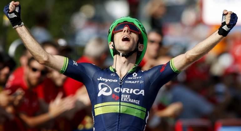 Simon Yates da un prestigioso triunfo al Orica en la sexta etapa de La Vuelta