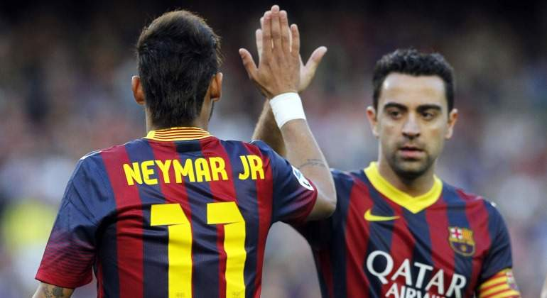 Xavi: Neymar nos dijo en la boda de Messi que no era feliz