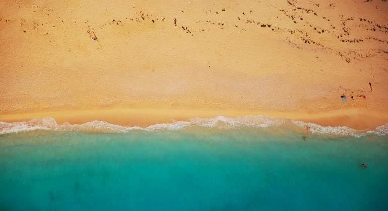 Reaparece una playa fantasma luego de 33 años