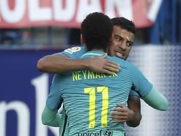 Messi sale al rescate del Barça y consigue un triunfo vital ante el Atlético