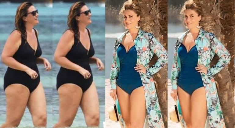 5f71495c32a2 Carlota Corredera sufre el 'efecto rebote': tras adelgazar 60 kilos ...