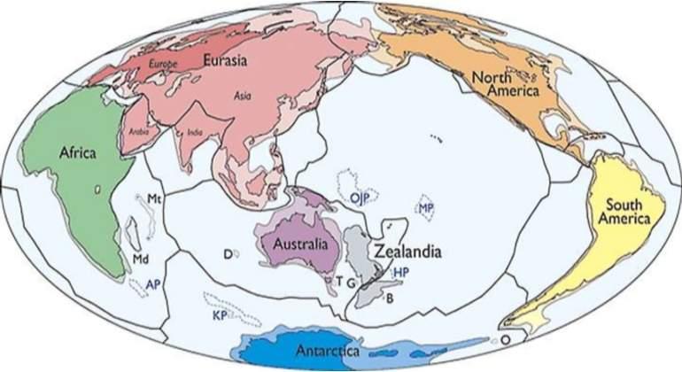 Zelandia, el continente perdido del que forma parte Nueva Zelanda