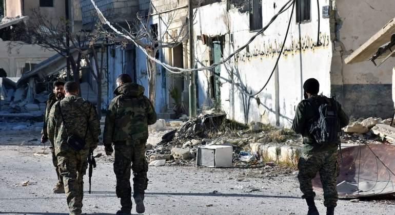 El Ejército sirio recupera varias zonas del este de Alepo controladas por los rebeldes
